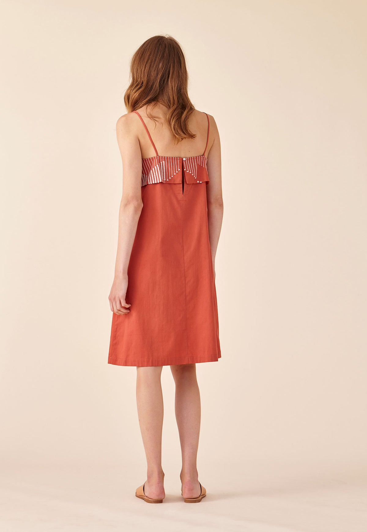 Embroidered Dress - Sienna