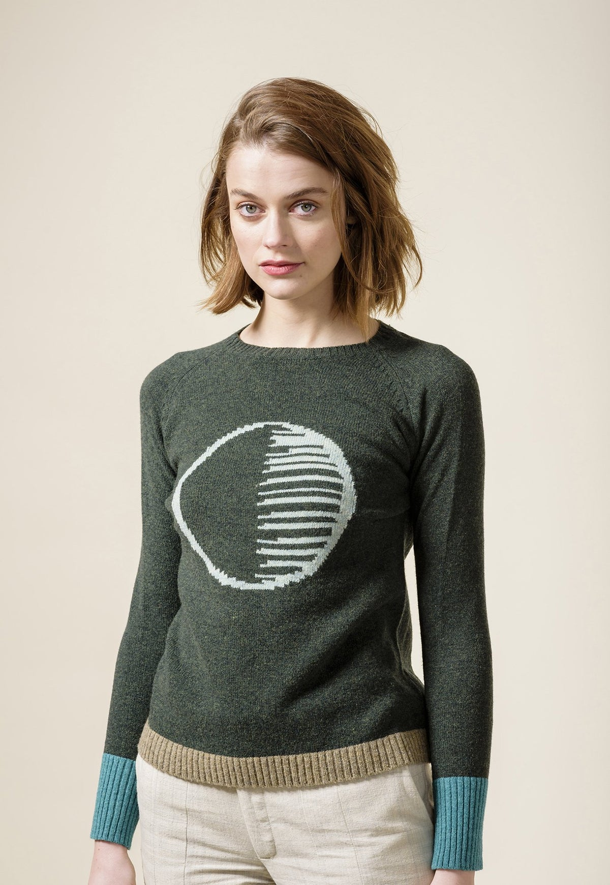 Equinox Jumper - Deep Green