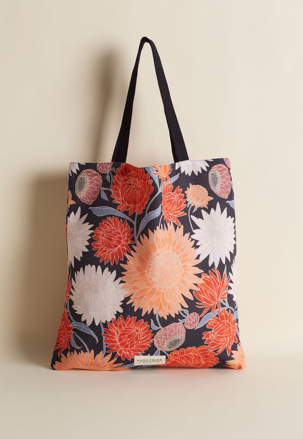 Fabric Tote - Daisies