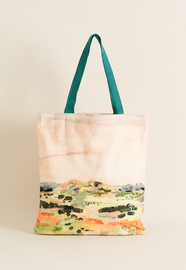 Canvas Tote Bag - Pilbara