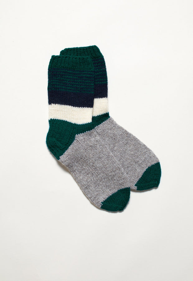 House Sock - Emerald