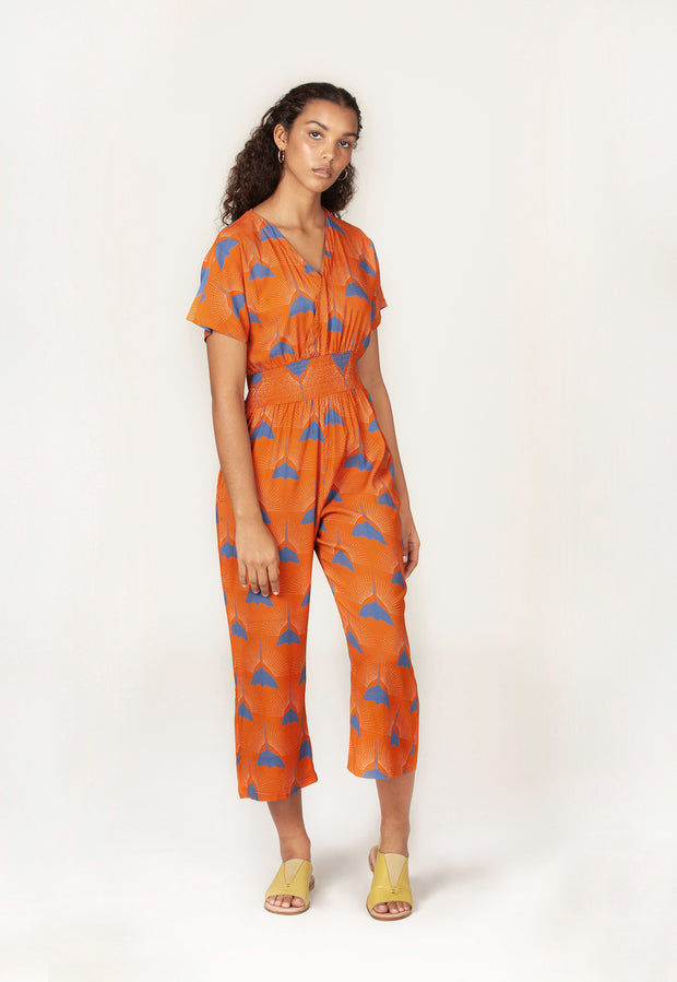 Shelly Jumpsuit - Tiger Ray