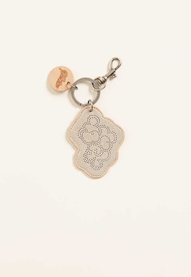 Cloud Keyring - Gold