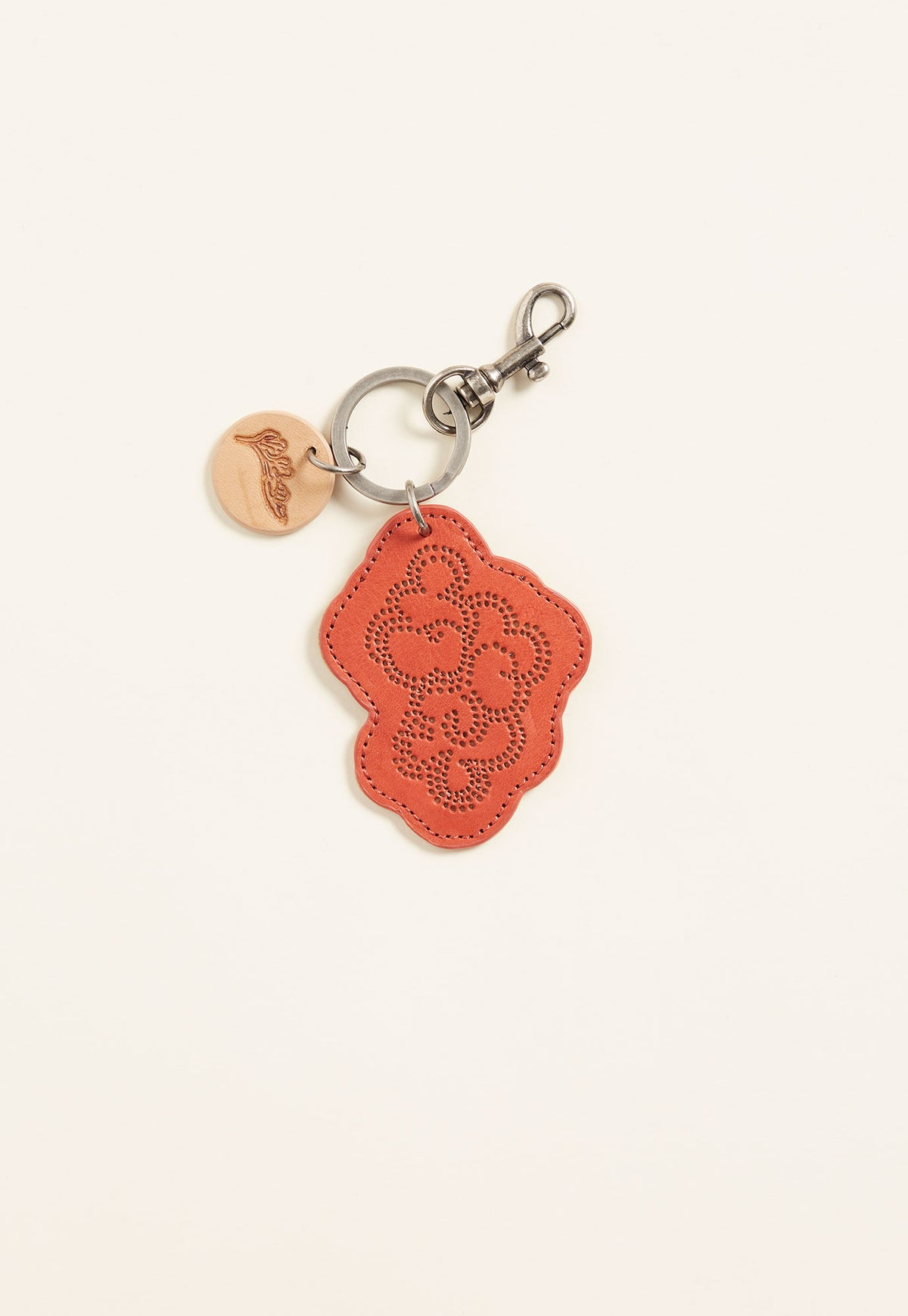 Cloud Keyring - Red