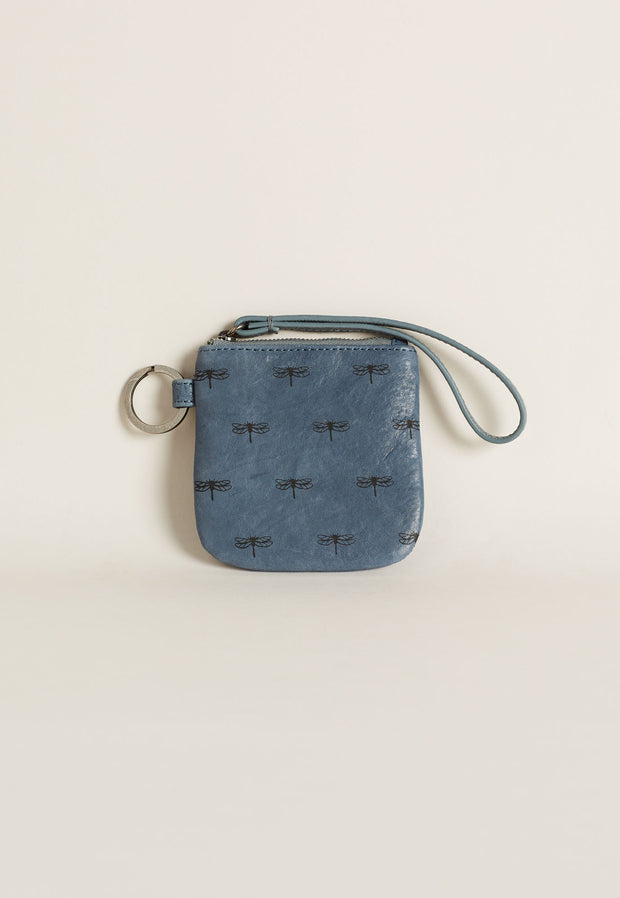 Keyring Purse - Denim