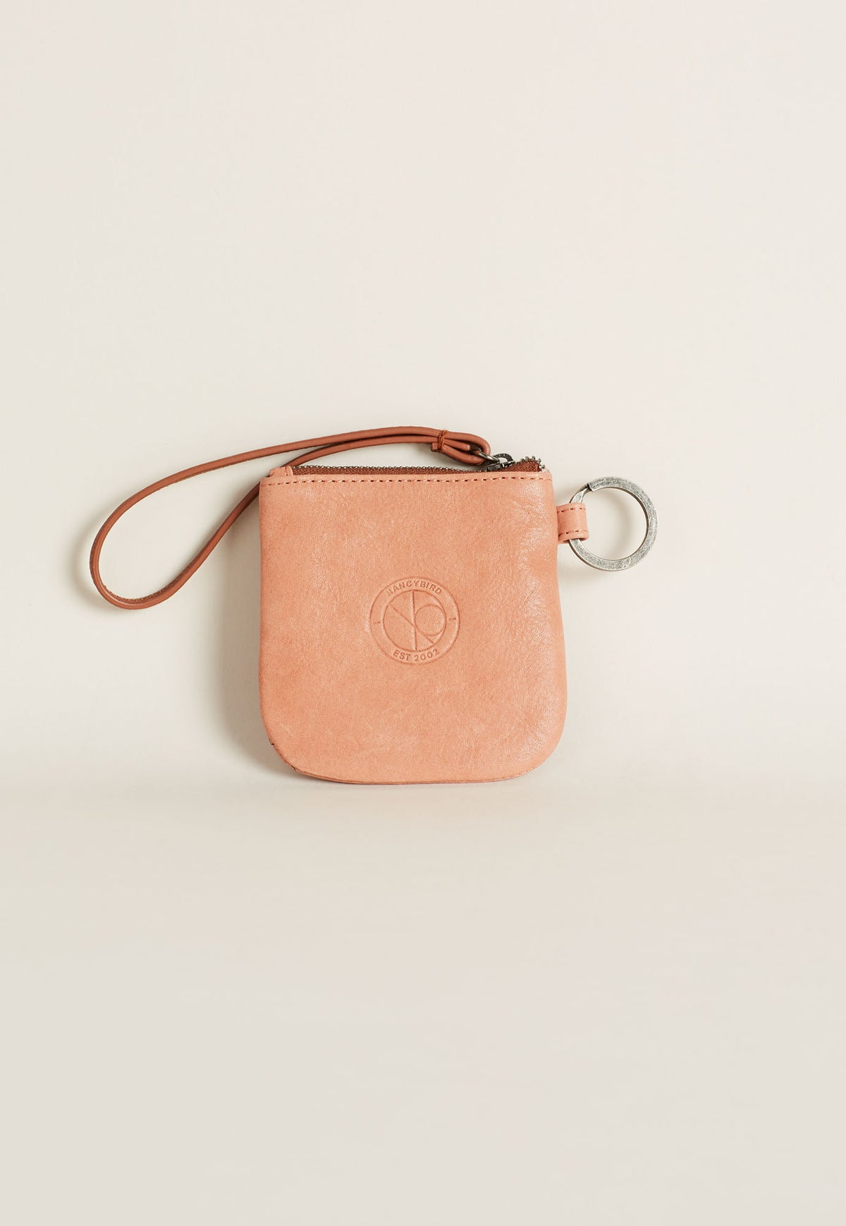 Keyring Purse - Dusty Pink