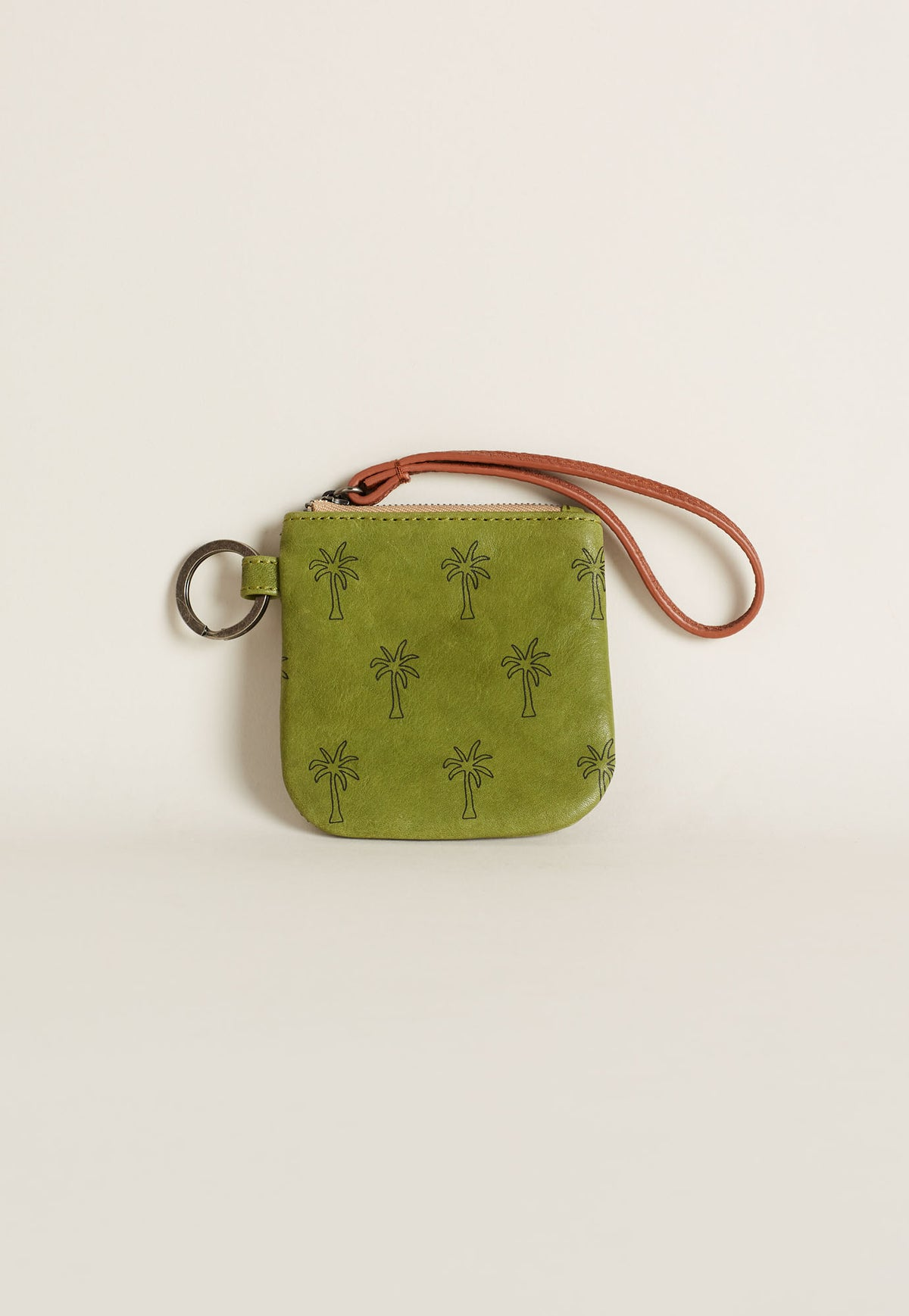 Keyring Purse - Moss Green