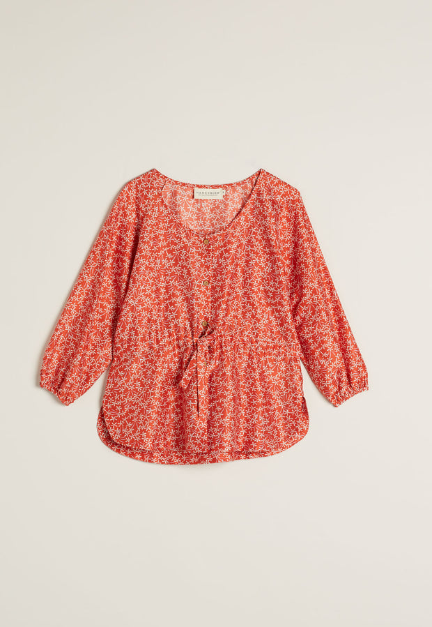 Lily Top - Red Jasmine