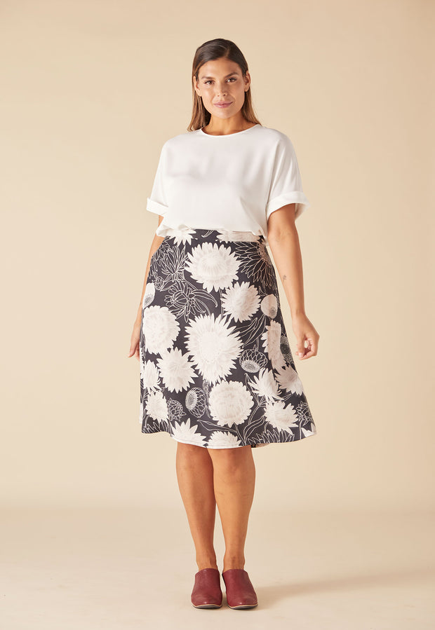 Lidia Skirt - Night Daisy