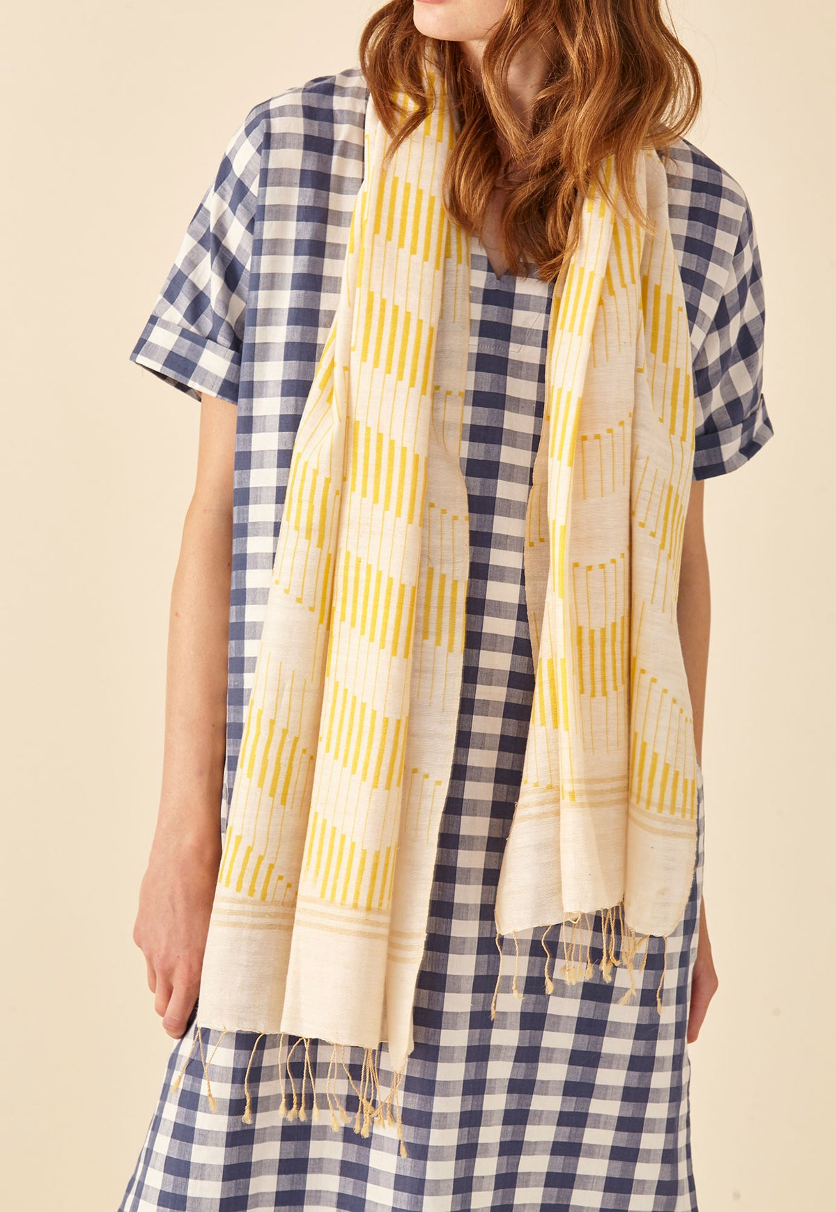 Long Scarf - Prairie Stripe