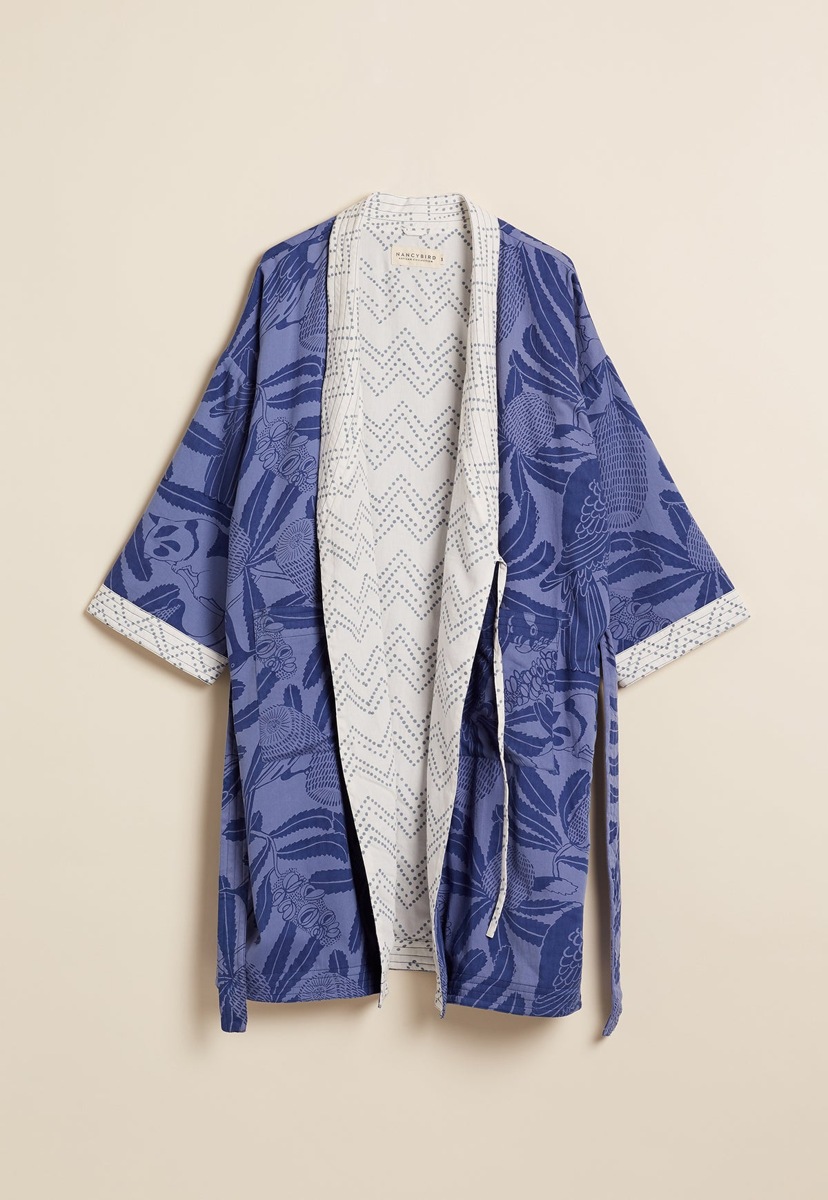 Lounge Gown - True Blue Banksia
