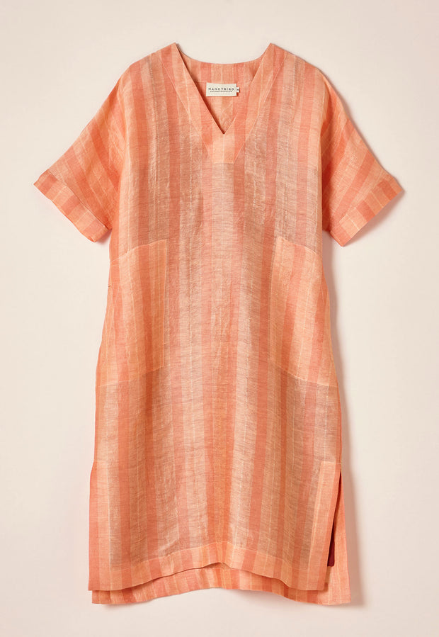 Lucknow Dress - Melon