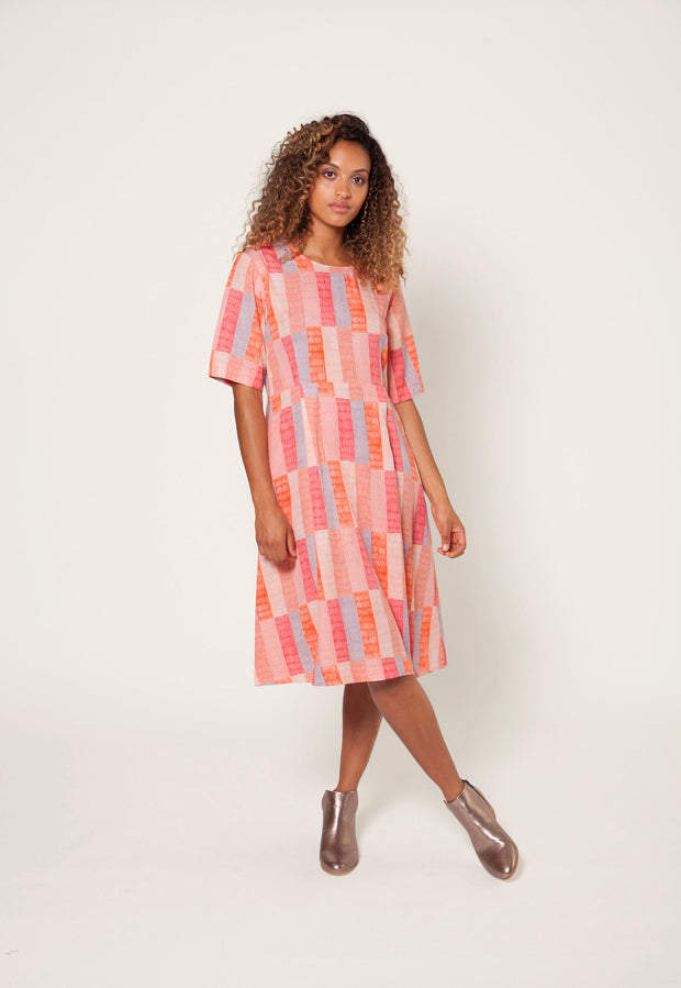 Clifton Dress - Patchwork