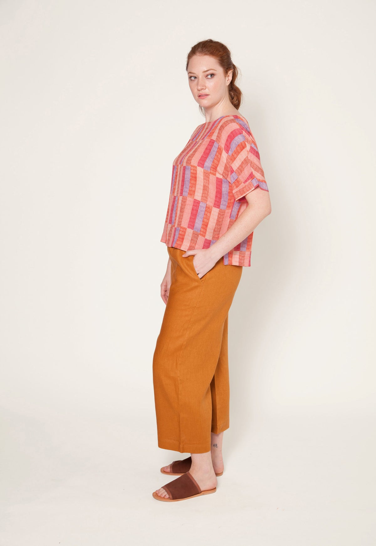 Dolman Top - Patchwork