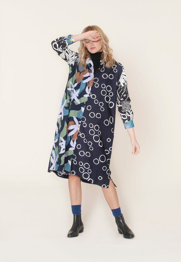 Gibson Shirt Dress - Splice