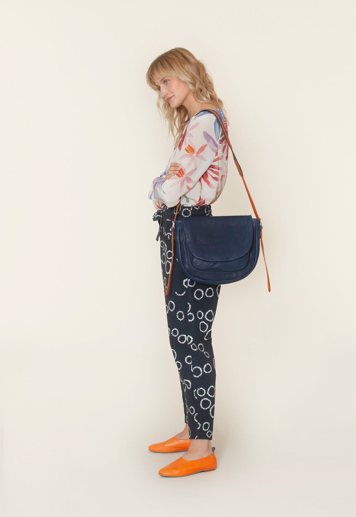 Saddle Bag - Deep Navy