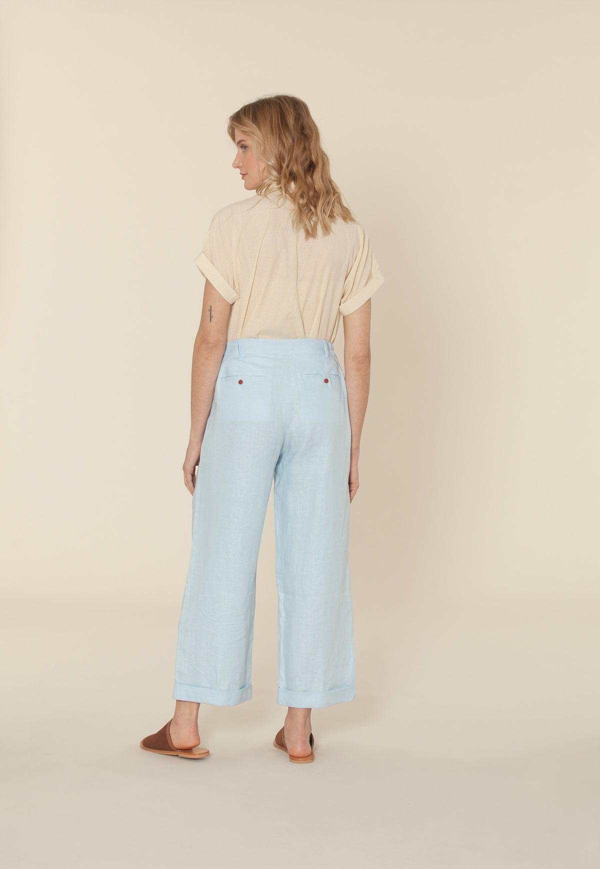 Brooke Pant - Powder Blue