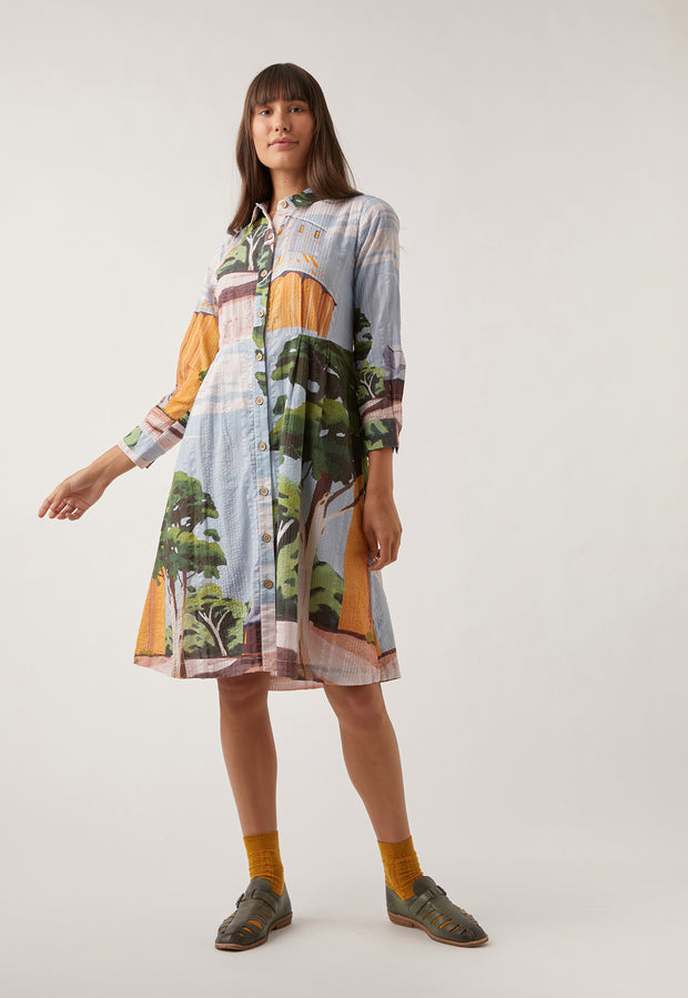 Daze Shirt Dress - Silo