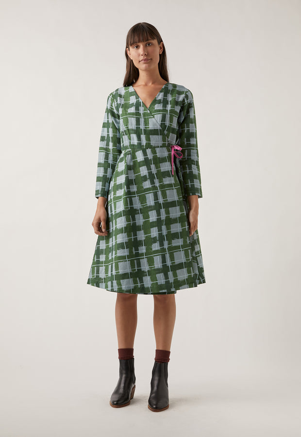 Spencer Dress - Painted Check