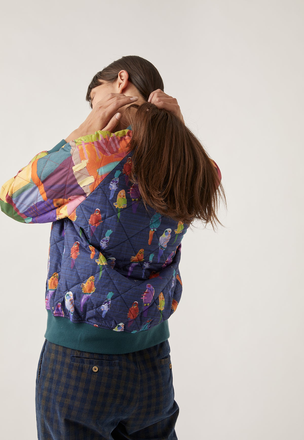 Reed Quilted Bomber Jacket - Bird Dreaming