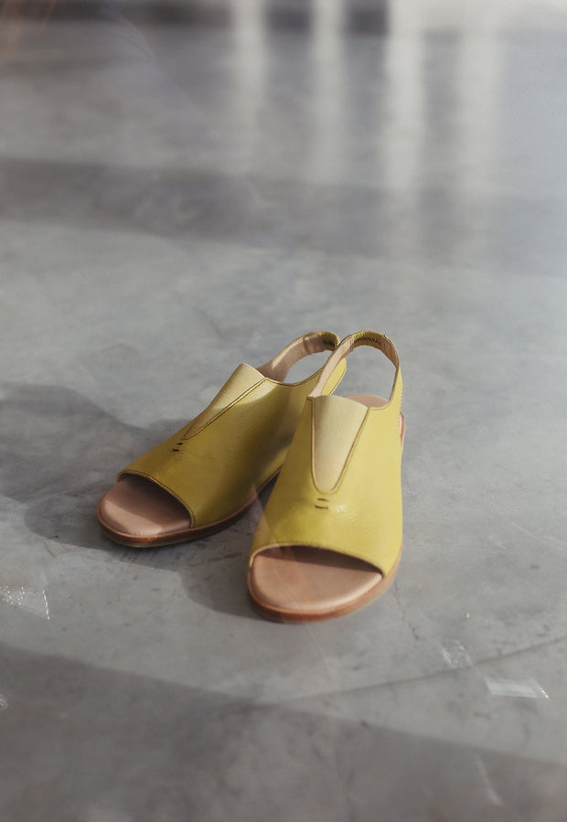 Sling Back Loafer - Dandelion