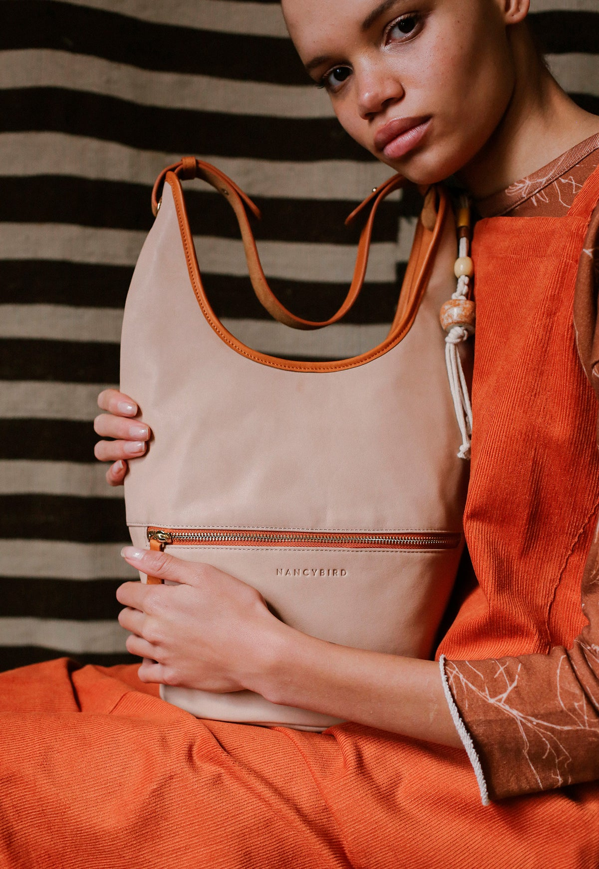 Shana Bucket Bag - Stone