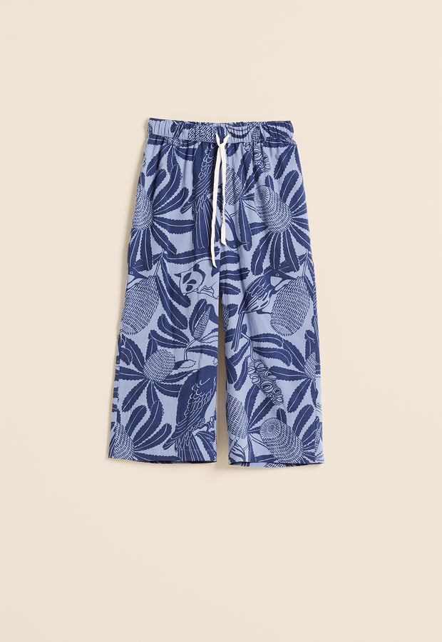 Pyjama Pants - True Blue Banksia