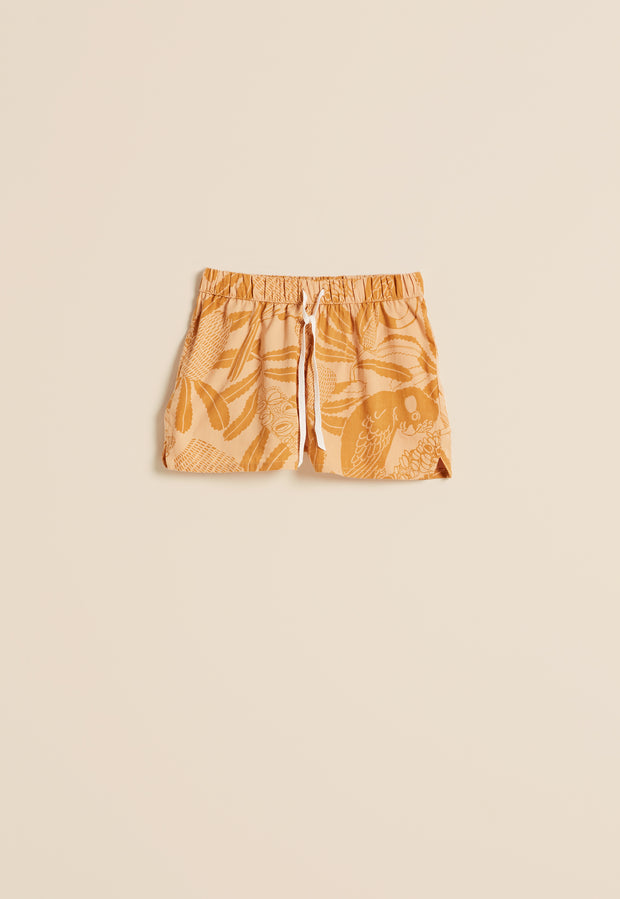 Pyjama Shorts - Clay Banksia