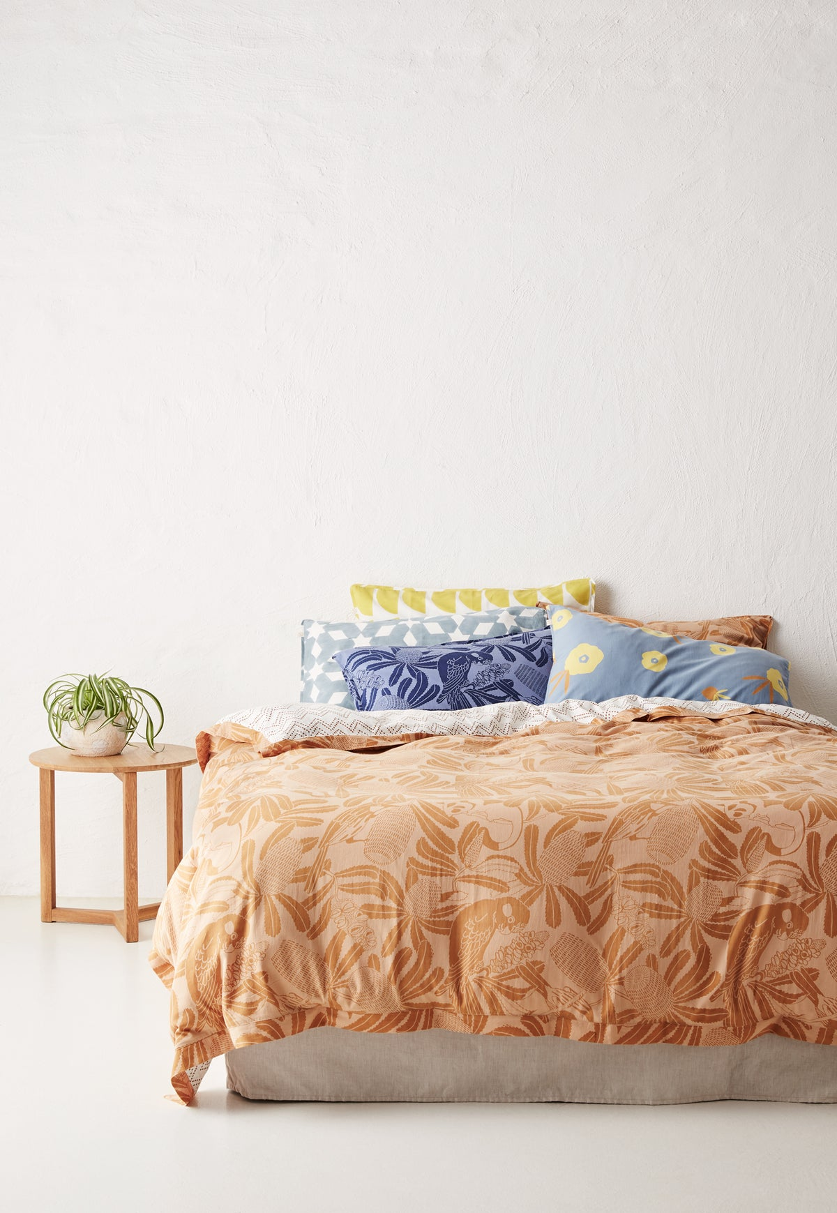 Quilt Cover - Clay Banksia