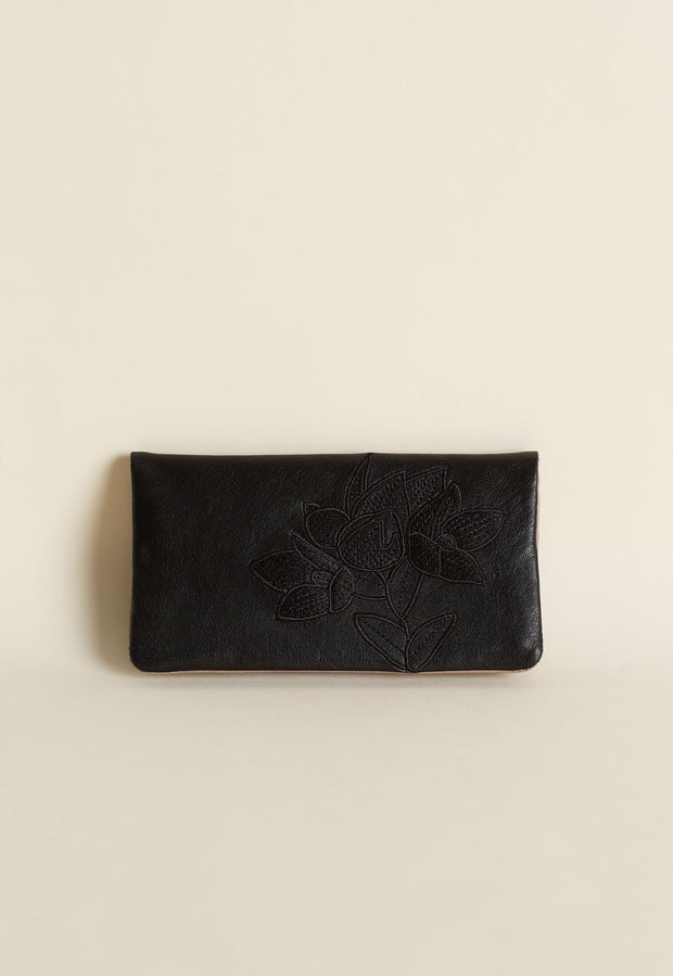 Pearl Wallet - Black
