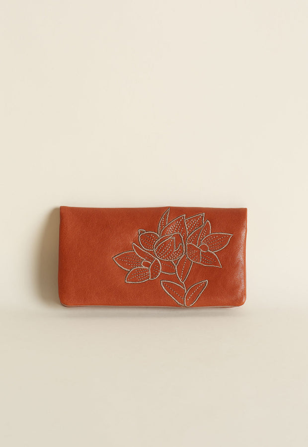 Pearl Wallet - Rust