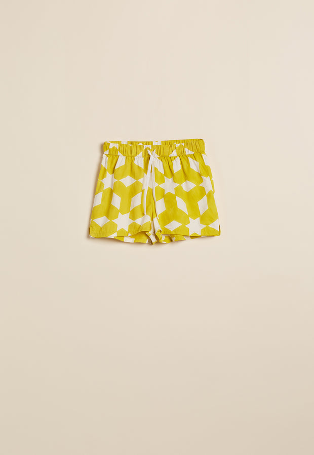 Pyjama Shorts - Sunflower Stars