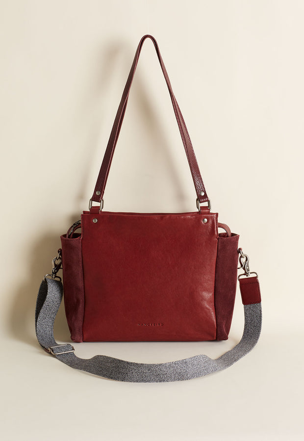 Plateau Day Bag - Dark Berry