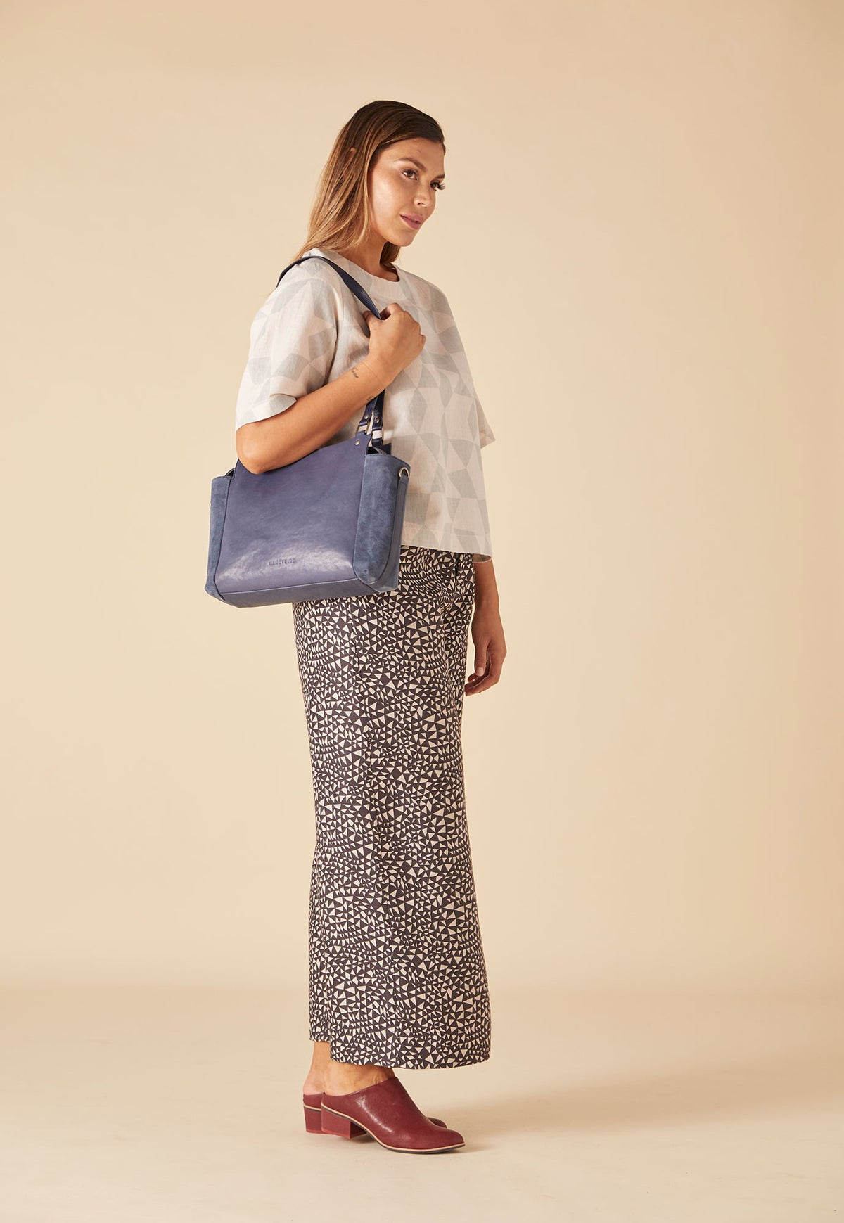 Plateau Day Bag - Indigo