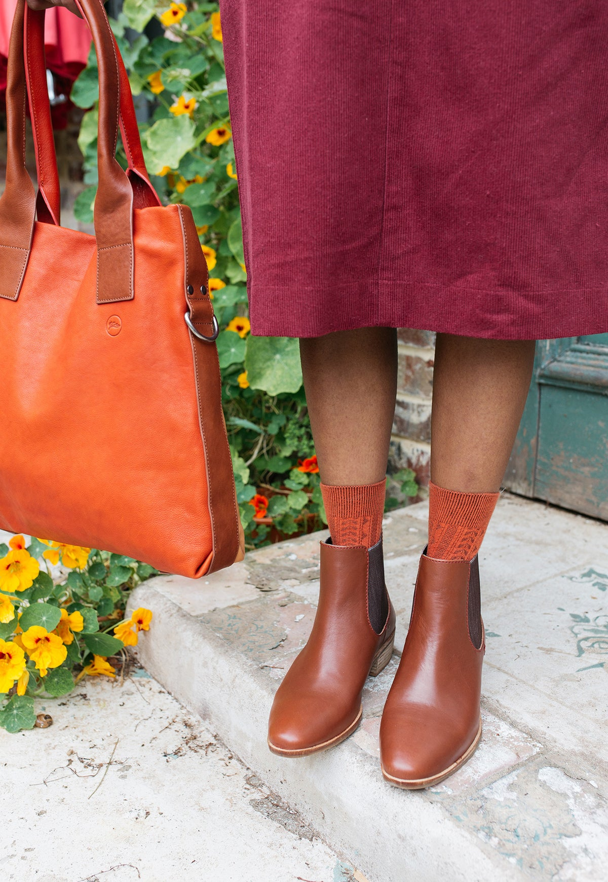 Thursday Tote - Russet Red