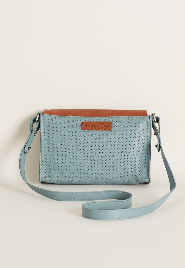 Small Crossbody Bag - Vintage Blue