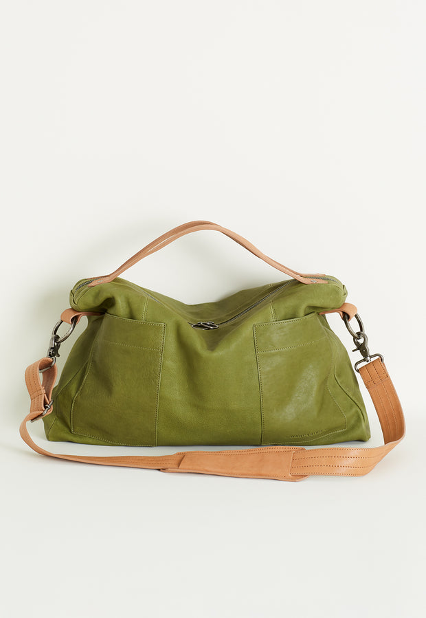 West Bag - Moss Green