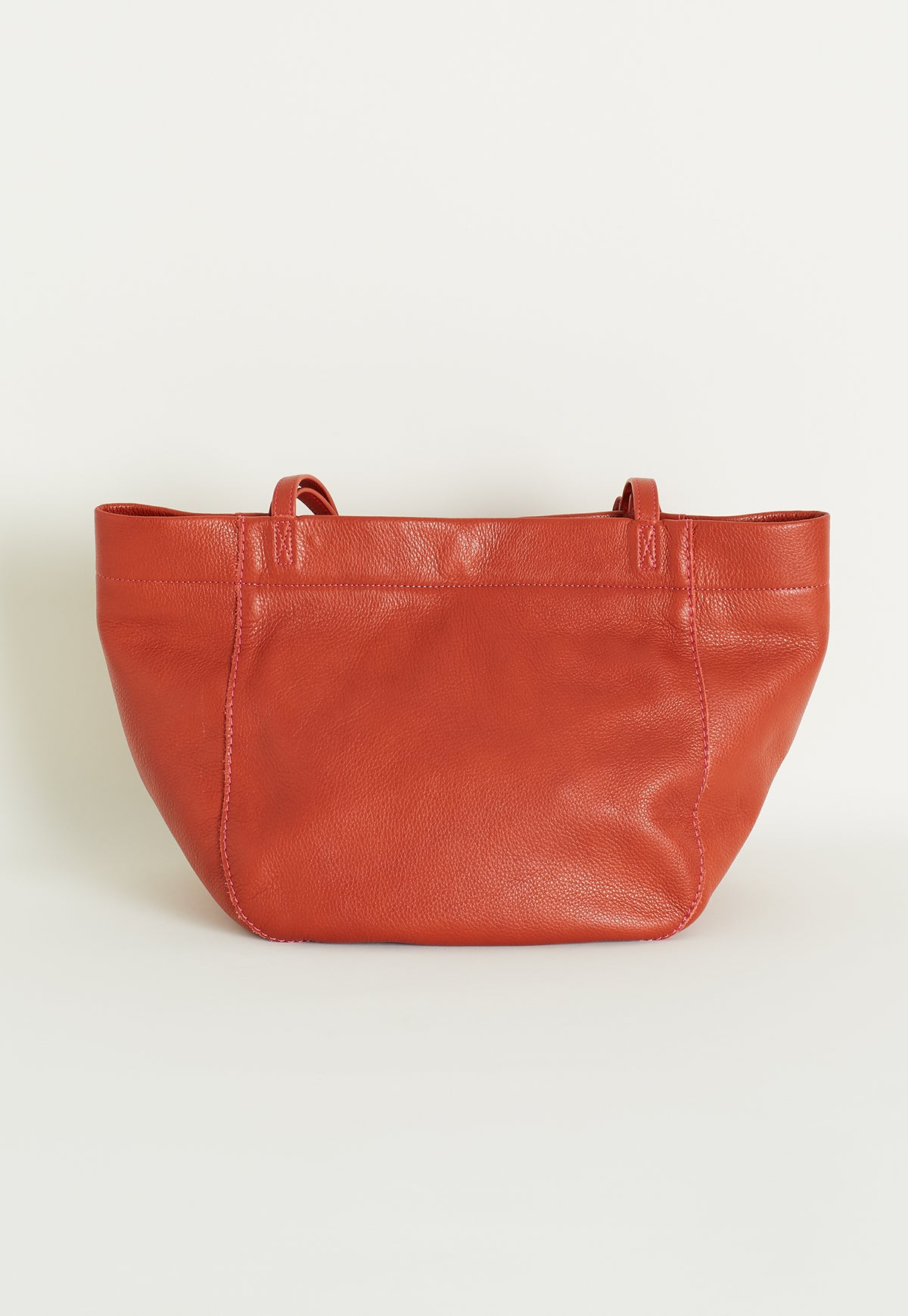 Basket Tote - Terracotta