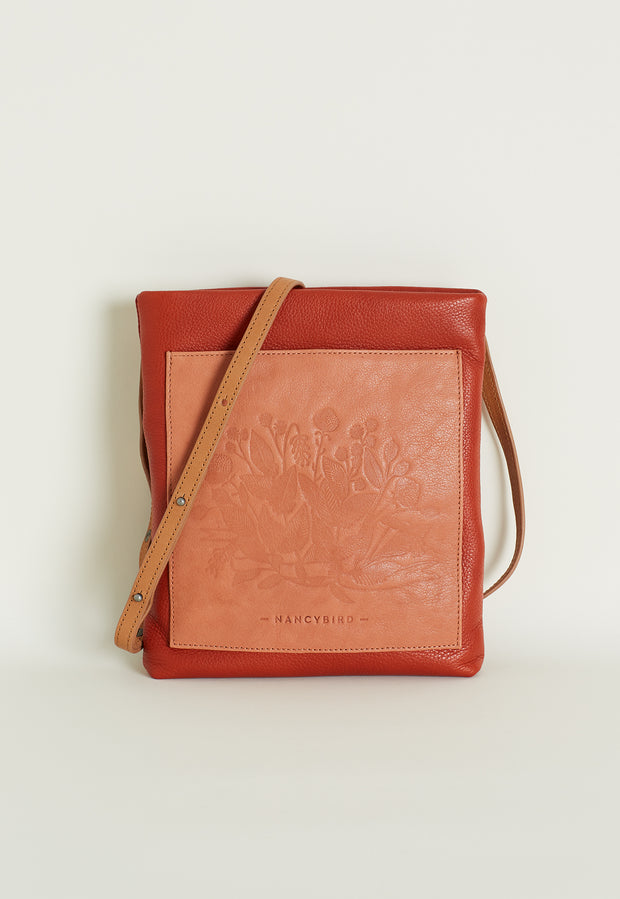 Pocket Crossbody - Terracotta