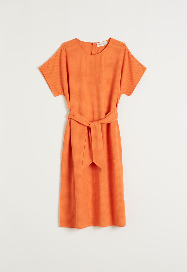 Tallows Dress - Orange