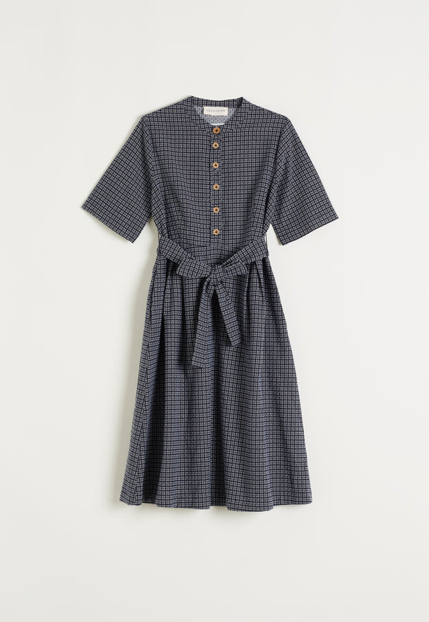 Stirling Dress - Woven Stripe