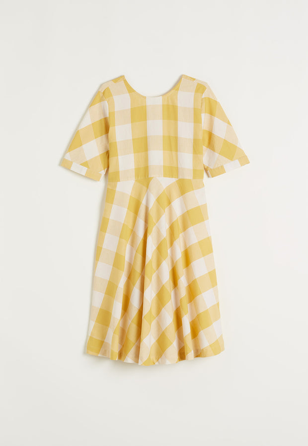 Angourie Dress - Sunshine Check