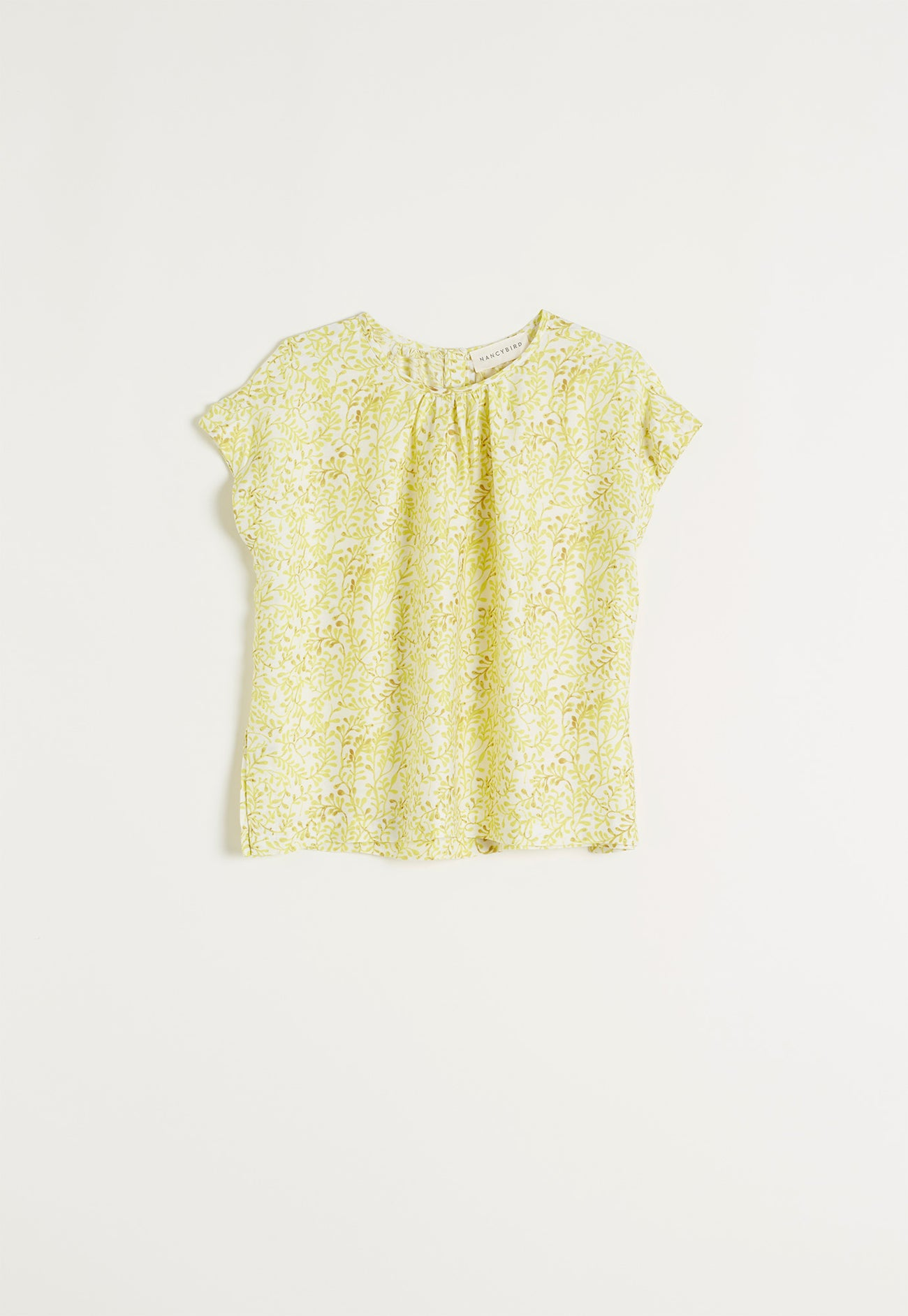 Tea Tree Top - Seaweed Lace