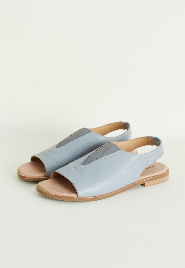Sling Back Loafer - Celestial Blue