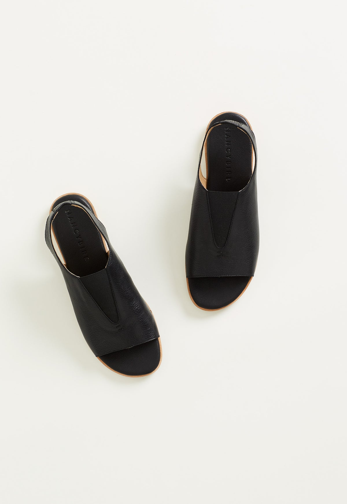 Sling Back Loafer - Black