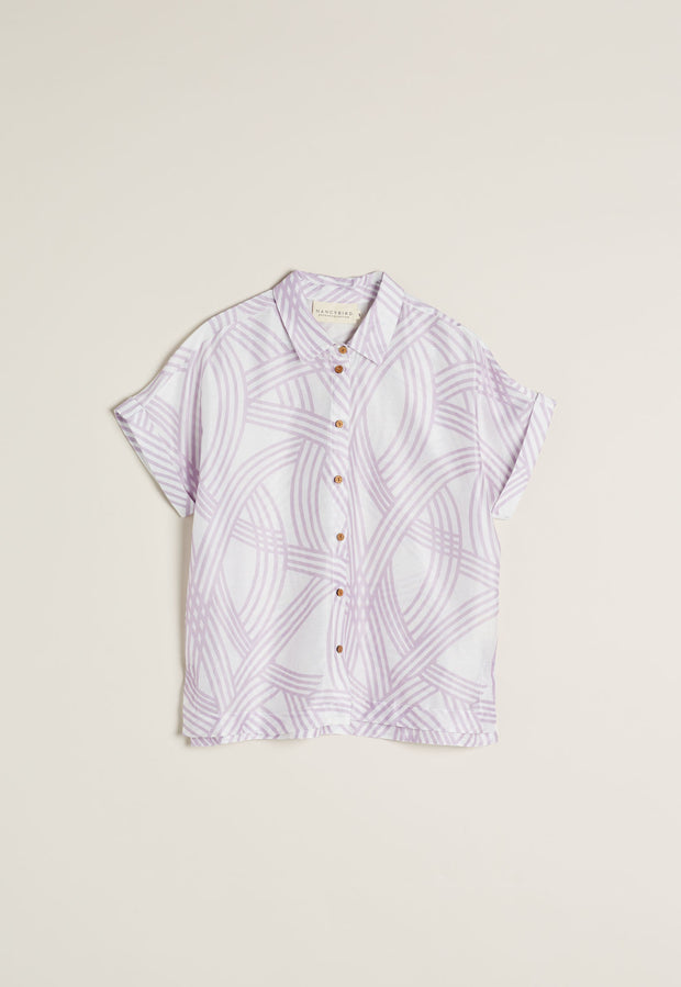 Stella Shirt  - Lilac Tracks