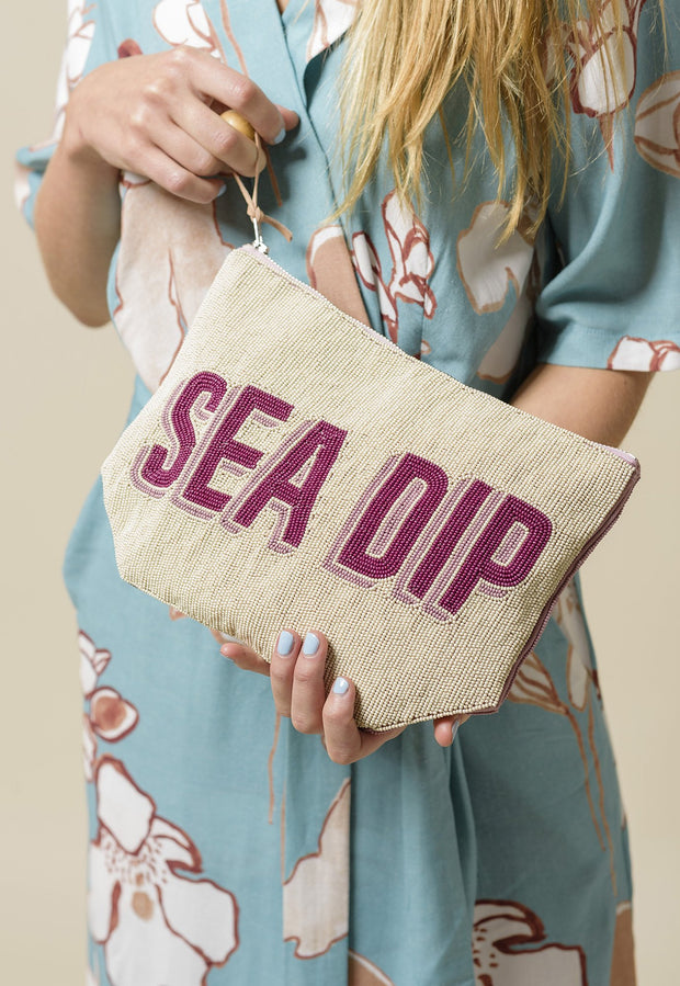 Beaded Clutch - Sea Dip