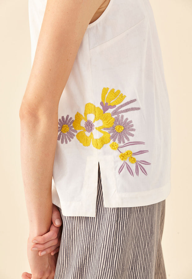 Shell Top - Daisy
