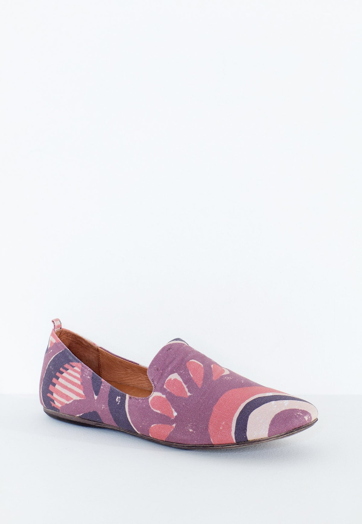 Sky Loafers - Printed Canvas