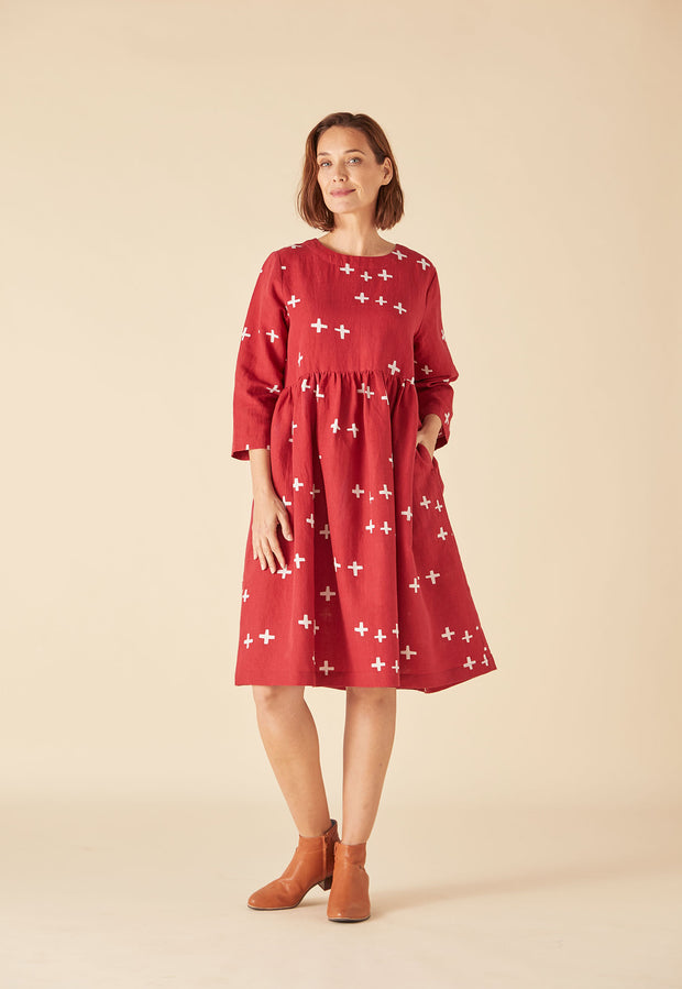Tidal Dress - Crosses